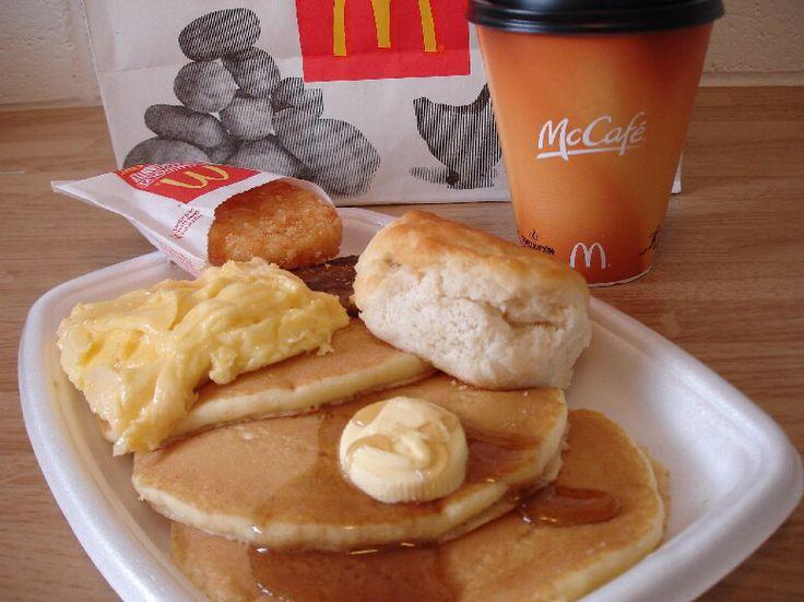 Mcdonalds Breakfast Platter Pancakes Hashbrowns And