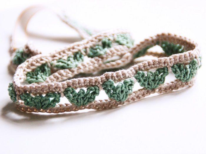 DIY: Haarband mit Herzmuster häkeln von Frau Fadenschein   DaWanda Blog
