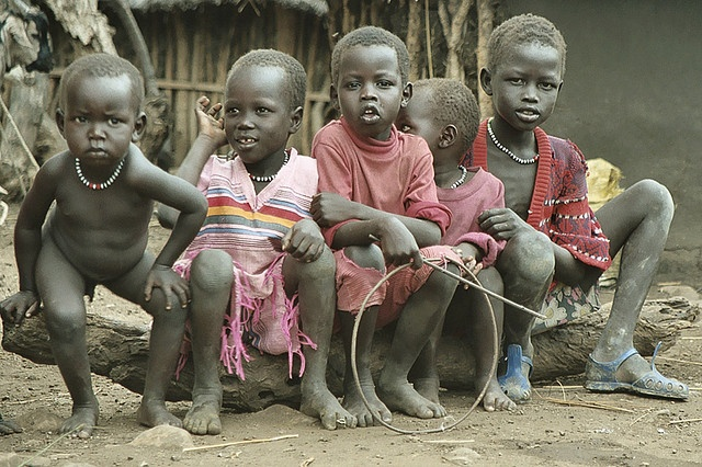 Ethiopia : Dinka by foto_morgana, via Flickr: