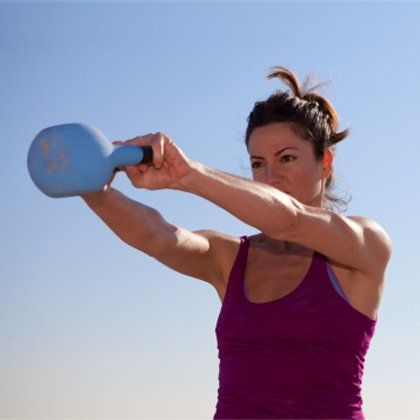 Burn fat and build endurance with this kettlebell workout routine. This workout will sculpt and tone your entire body. Start building muscle fast and losing weight with these intense kettlebell exercises.