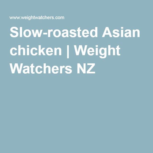 Slow-roasted Asian chicken   Weight Watchers NZ