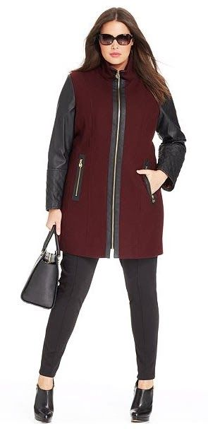 Plus Size Designer Winter Coats