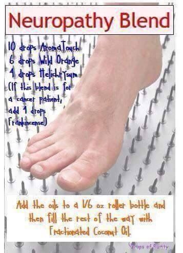 Neuropathy Blend Doterra Essential Oils Protocols And