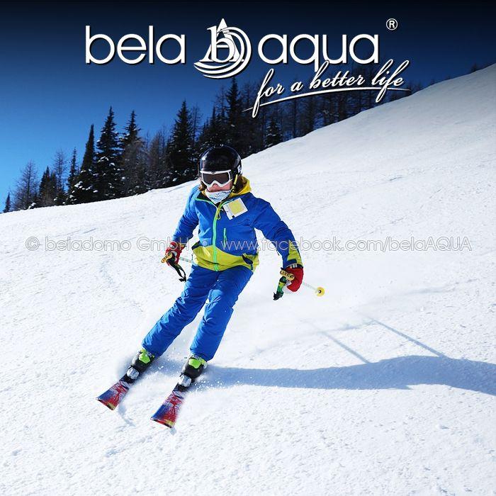 Schönes Wochenende! Ab auf die Piste mit bela•aqua®!  #belaaqua #forabetterlife #skifoahn