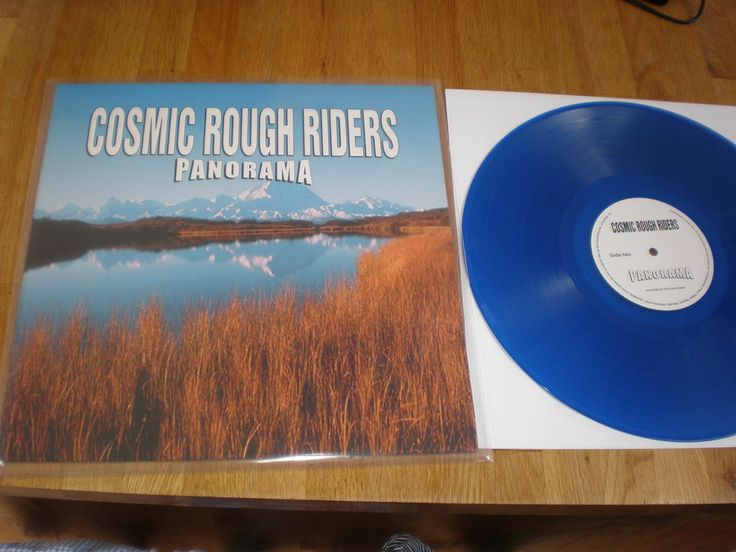 LP COSMIC ROUGH RIDERS - PANORAMA (SUGARBUSH SB800) new release, BLUE VINYL!