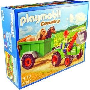 Ach, Ten Playmobil, codziennie coś nowego Tym razem coś dla wielbicieli Serii Country - Wieś - Playmobil 5062 - Traktor przednią ładowarką i przyczepą do Transportu Koni. Czekamy na dostawę i przyjmujemy już zamówienia Co znajduje się w Zestawie ? Sprawdźcie sami:)