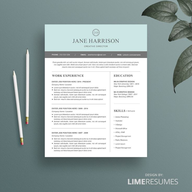 resume template 18 best modern resume template and