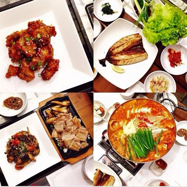 Gaia Korean Grill + Bar | If you love marinated yet healthy meats, you should check out Gaia and try their Combination Platter ($28) of chicken, pork belly and short rib meat. | Gaia Korean Bar and Grill: 17E Lorong Liput, Singapore 277731 | Facebook Operating hours: 11.30am to 2pm, 5.30pm to 12am (Mon to Fri), 11.30am to 12am (Sat/Sun)