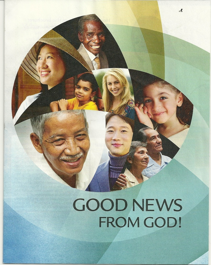 """2012 release....wonderful! This """"good news"""" involves YOU, and includes people of every nation, tribe, kindred and tongue. Free copy: www.jw.org (download) or pick one up at any Kingdom Hall."""