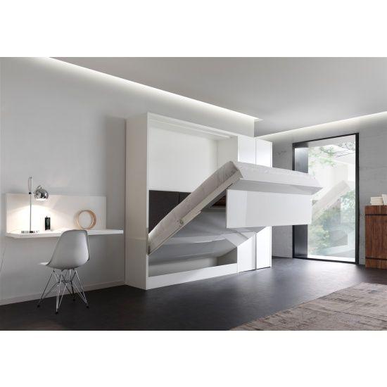 25 beste idee n over opklapbed op pinterest een bed for Bed in de muur