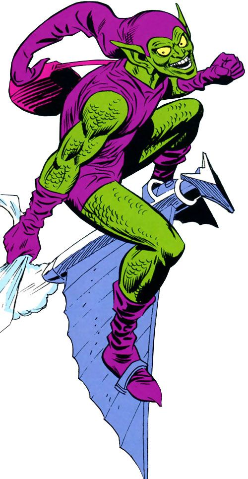 A character profile for Marvel Comics' third (and relatively short-lived) Green Goblin, Dr. Bart Hamilton. Pictures, biography, equipment, etc.
