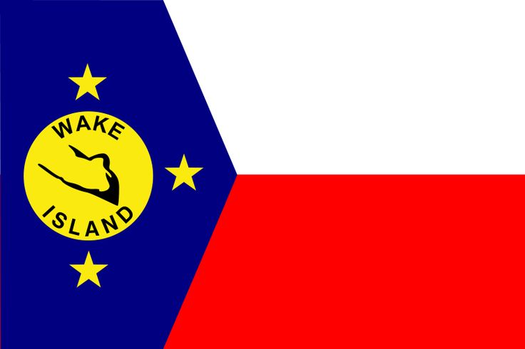 National flag of the Wake Islands from http://www.flagsinformation.com/wake_island-country-flag.html