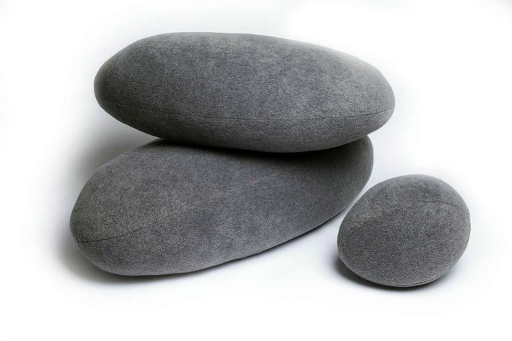 Amazing Pebble Pillows Design Ideas ~ http://www.lookmyhomes.com/unique-view-and-functional-pebble-pillows/