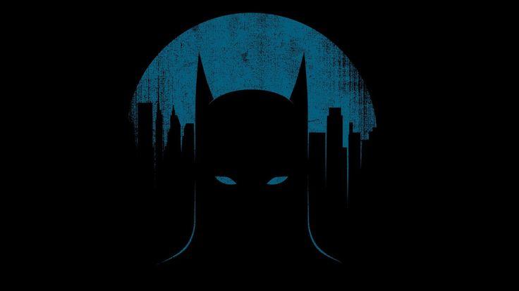 batman town silhouette batman HD wallpaper