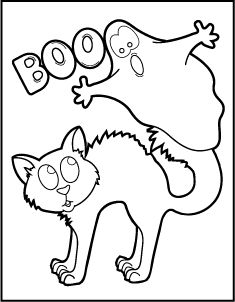 free printable halloween coloring pages - Halloween Coloring Books