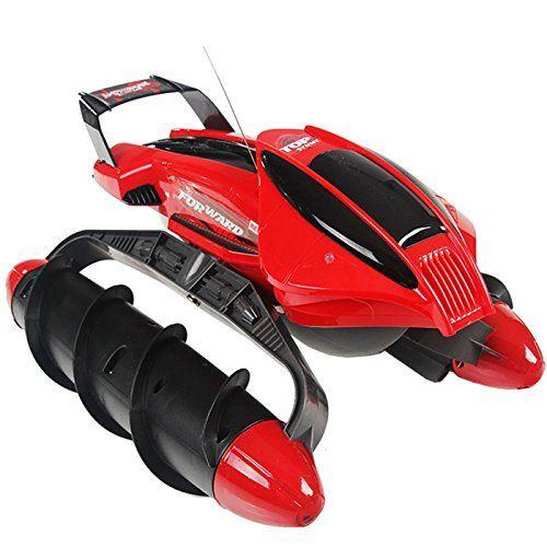 Terrain Twister Coche RC Anfibio | Para Agua y Tierra | Juguetes Originales Baratos - http://www.midronepro.com/producto/terrain-twister-coche-rc-anfibio-para-agua-y-tierra-juguetes-originales-baratos/