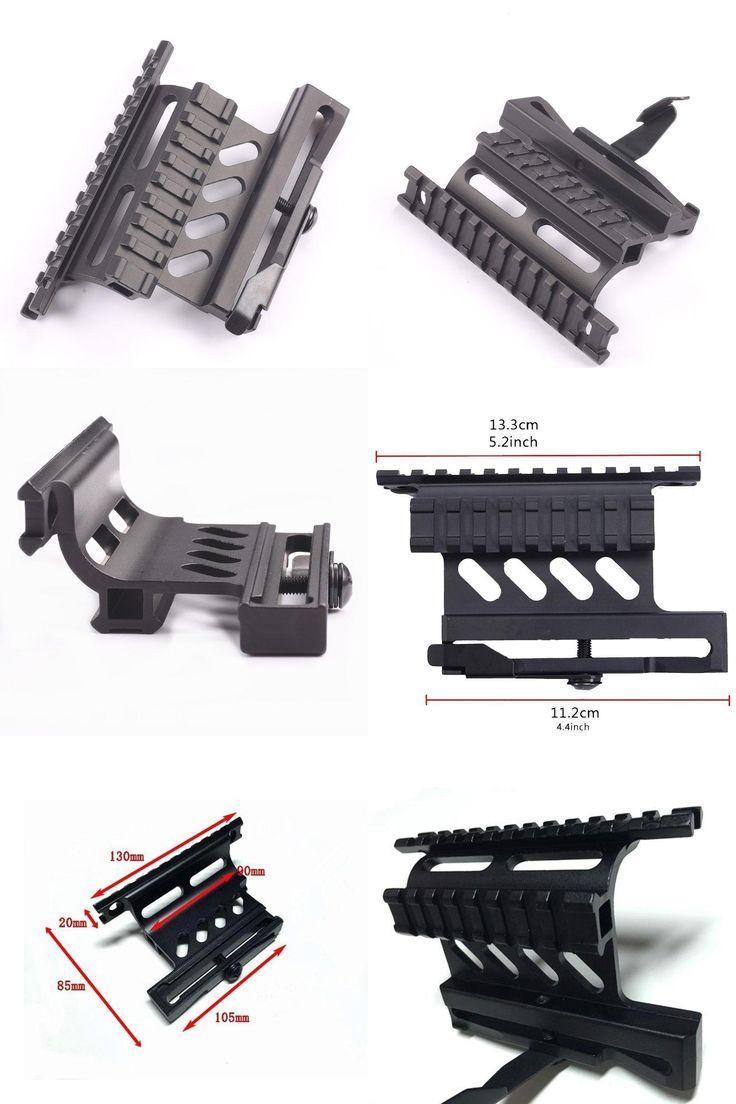 [Visit to Buy] Tactical AK Serie Rail Side Scope Mount Quick QD Style 20mm Detach Weaver rail Double Side AK Scope Sight Mounts Rifle Hunting #Advertisement
