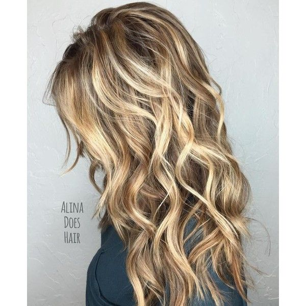 80 Cute Layered Hairstyles and Cuts for Long Hair ❤ liked on Polyvore featuring hair