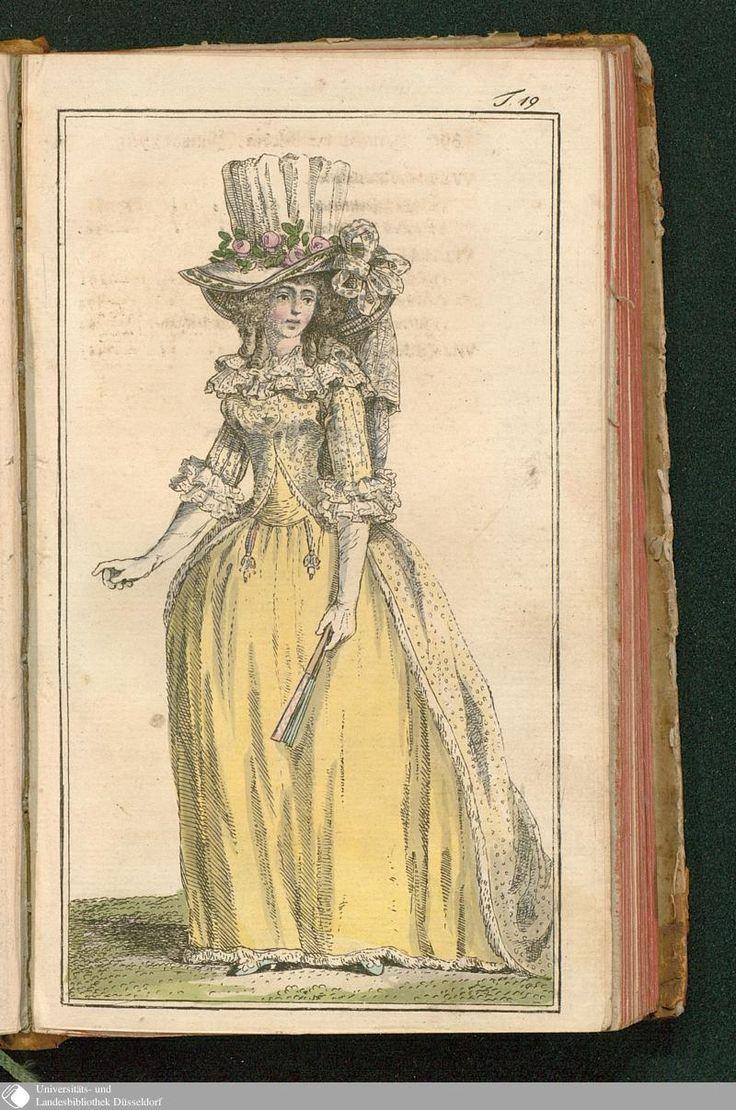 Journal des Luxus und der Moden, Tafel 19, July 1788.