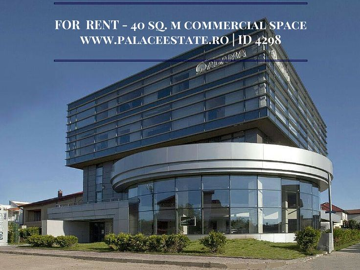 The commercial space has a 40 sq. m surface and is situated in a heavy traffic area, across British School. The price includes all the utilities except for electricity (it will be payed separately). www.palaceestate.ro | ID 4298