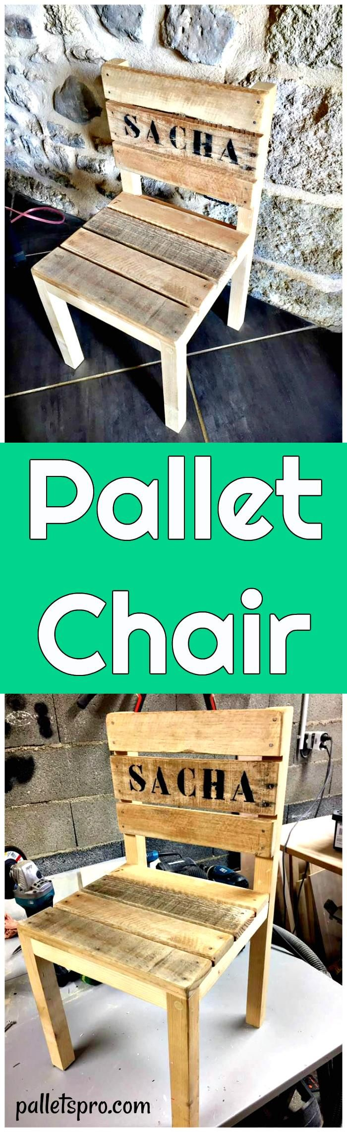 Diy comfortable pallet adirondack chair 101 pallets - Diy Pallet Chair For Kid S