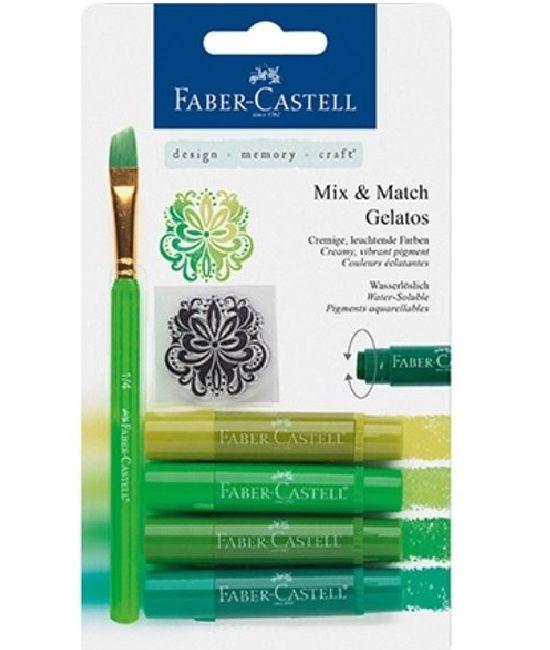 Faber Castell Gelatos kopen - Green Groen 4 st - €12,29