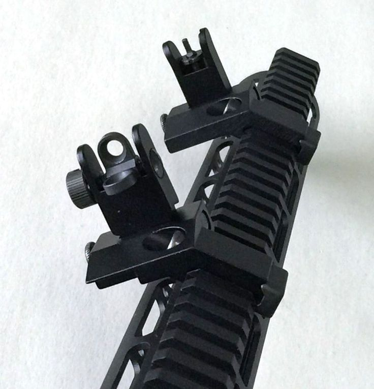 1 Pair Tactical BUIS Front and Rear Side Sight Flip Up 45 Degree Rapid Transition Iron Sights of Hunting Gun Accessories //Price: $40.99 & FREE Shipping //     #knife #army #gear #freedom #knifecommunity #airsoft