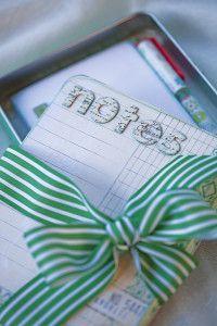 Creative Company | Scrap It: A tin of notes