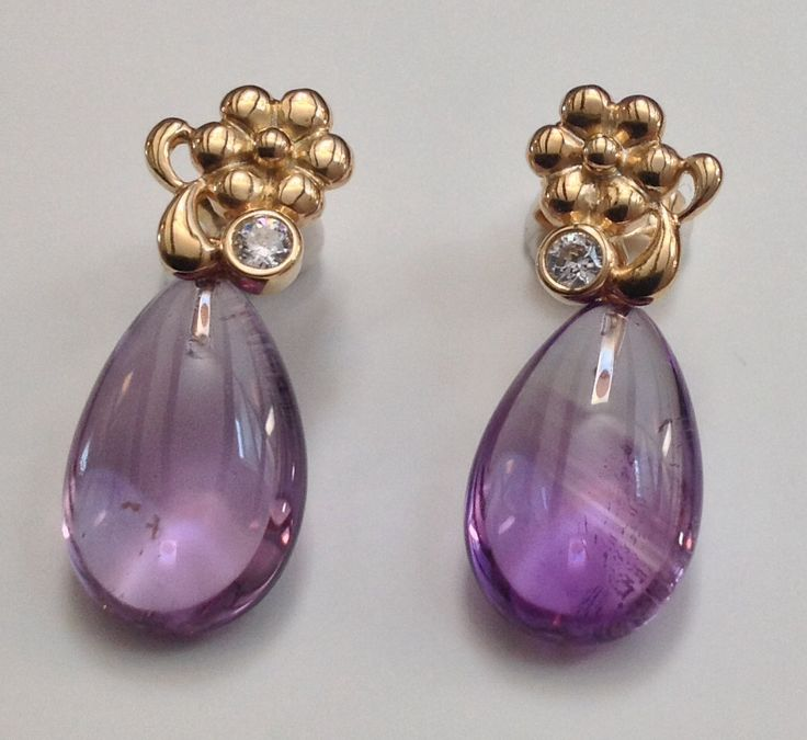 www.blossomcopenhagen.com NEW IN THIS AUTUMN 2014 Sterling silver earrings with cubic zirconia and amethyst
