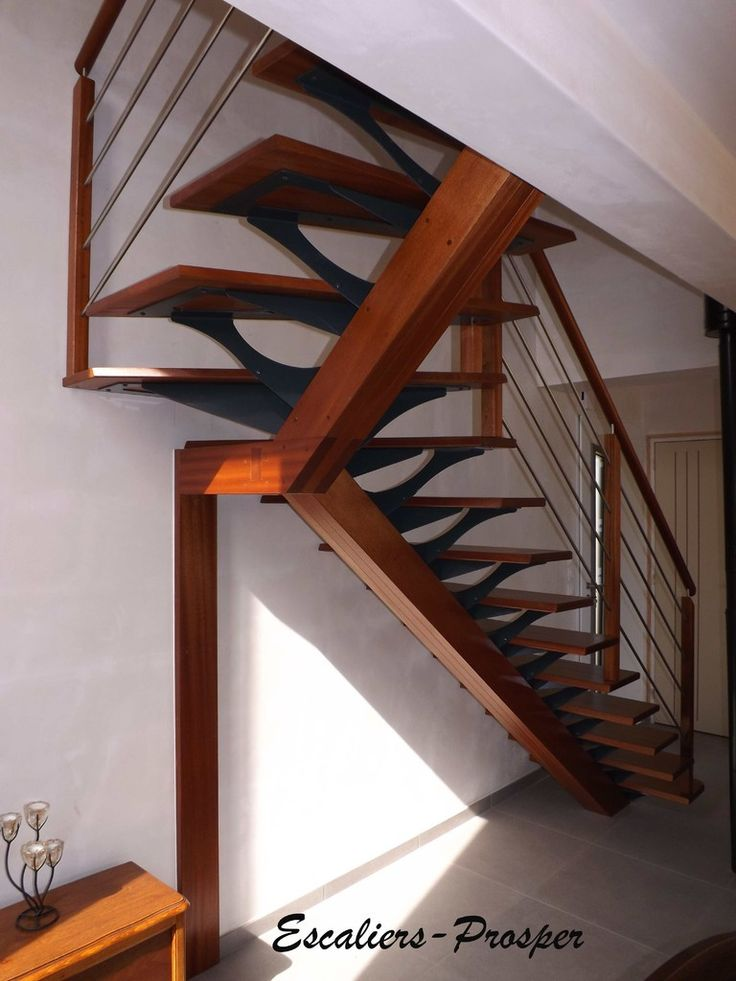 17 best images about escalier stairs we did on for Garde corps escalier