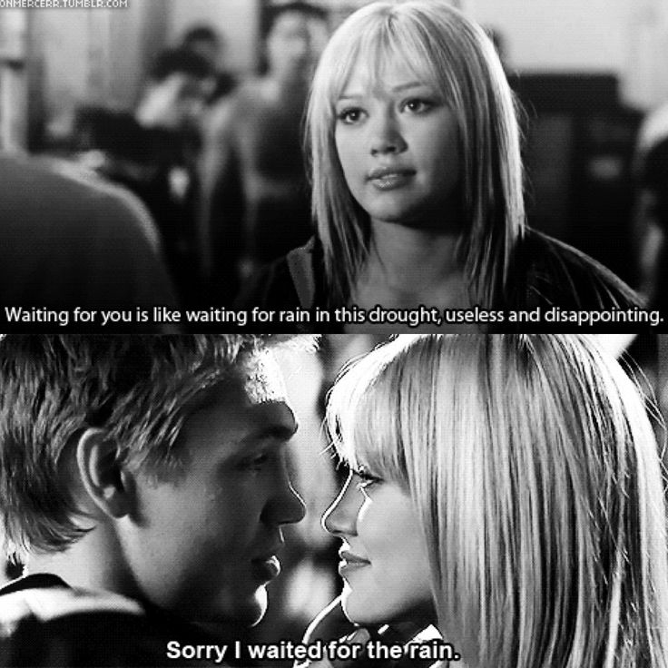 A Cinderella Story. Love Chad Michael Murray and Hilary Duff together in this movie.