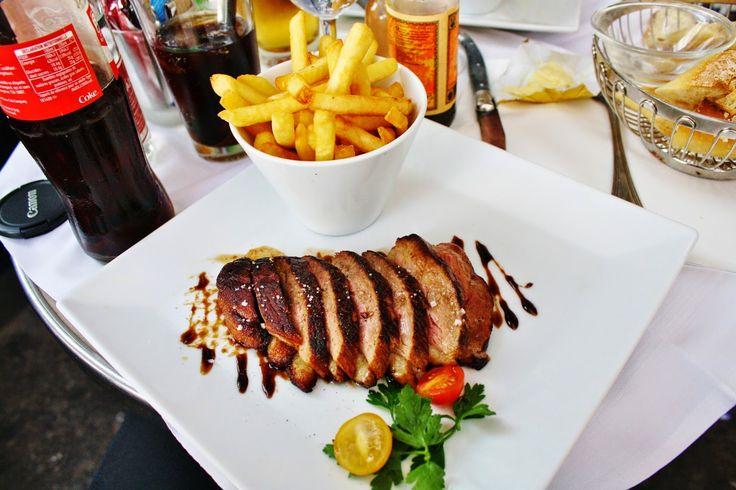 Dinner in Paris, Duck