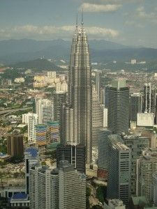 View from the KL Tower - Kuala Lumpur, Malaysia - 2013