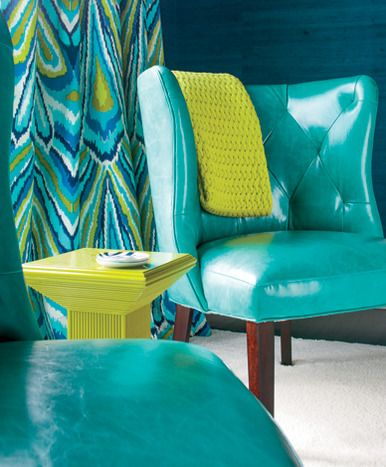 TO BOLDLY GO: Bold Color Abounds in a Mabley Handler-Designed Bridgehampton  Home -