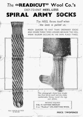 Re Knitting: Knitting in World War 2
