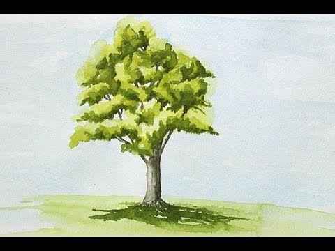 Peindre Les Nuages A L'Acrilique Leçon 1 Cour de peinture classe - YouTube
