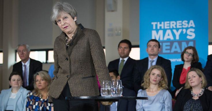 'worst deficit position seen in peace time'and the Tory party have made it WORSEThe Tory leader was confronted with the dire warning by NHS Providers chief executive Chris Hopson as she met party activists in Harrow