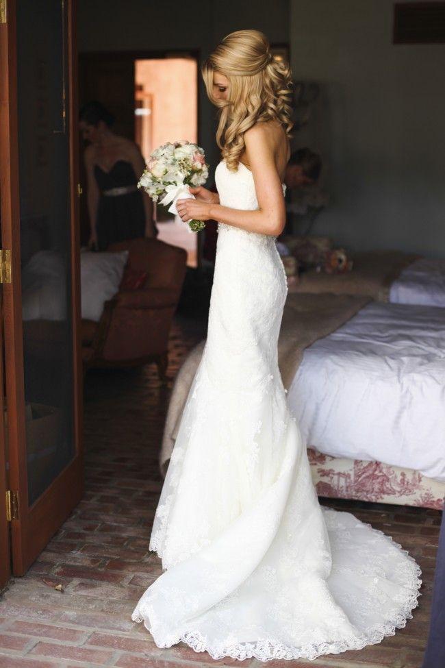La Sposa, Mullet Lace Size 8 Wedding Dress For Sale | Still White Australia