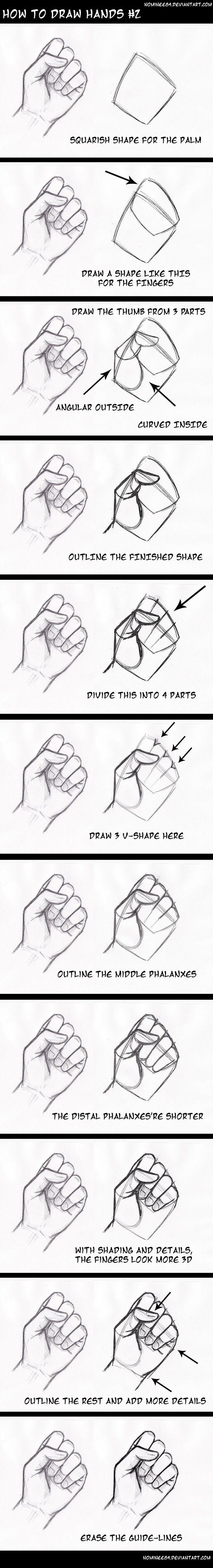 how to draw hands2 by nominee84 on DeviantArt