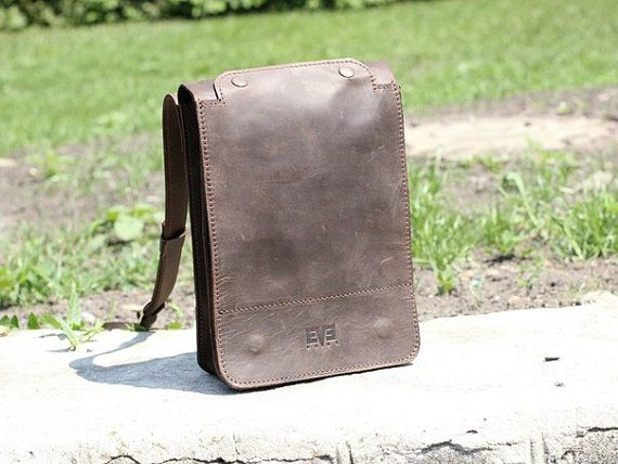 This iPad bag is a necessity for every man. Technologies are developing every day, making our work and communication much easier. We have to take care of all our devices, a...