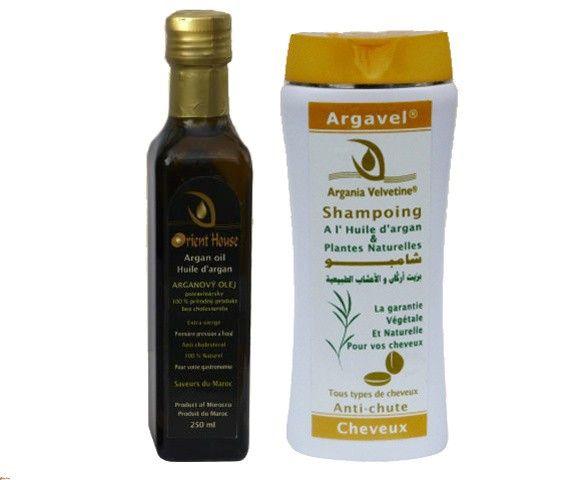 Arganový set pre zdravé vlasy a telo