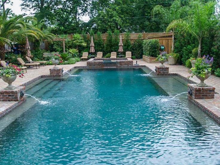 122 best pool spillover images on pinterest construction for Pool design washington dc