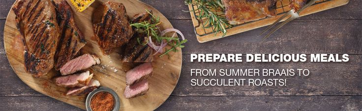 Prepare delicious meals from our steak houses country wide  https://www.checkers.co.za/food/butchery.html
