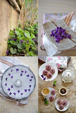 biscotti limone e violette