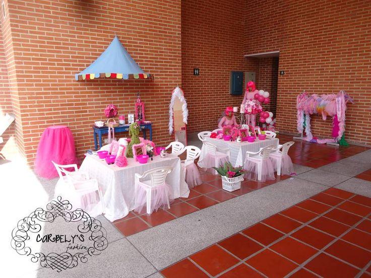 Spa para niñas - Fiesta temática para las princesas | Spa party ...