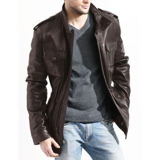 Shop for Men's Brown Lambskin Leather Jacket. Get free delivery at Overstock.com - Your Online Men's Clothing Shop! Get 5% in rewards with Club O!