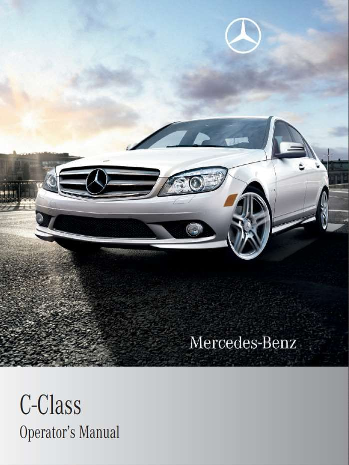 Mercedes Benz C Class 2010 Owner S Manual Has Been Published On Procarmanuals Com Https Procarmanuals Com Mercedes Be Benz C Mercedes Benz 2010 Mercedes Benz