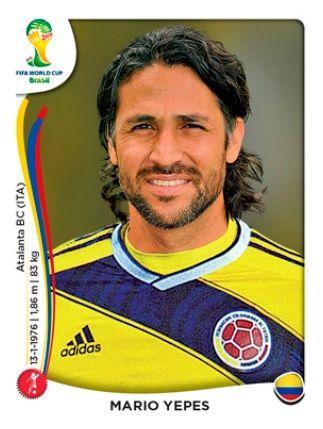 Colombia - Mario Yepes