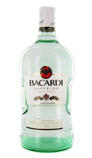 Bacardi...could you believe that this bottle back home is like 15 bucks and here in the US is like 35?