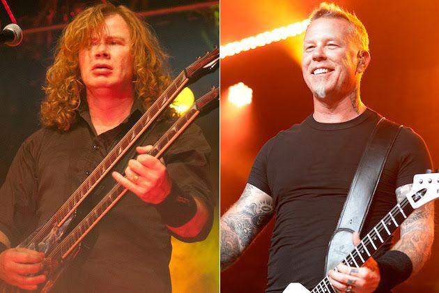 "Dave Mustaine para James Hetfield: ""Nós mudamos o mundo, irmão"""